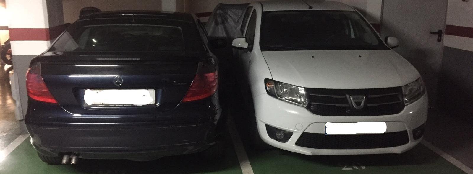 2×1 Plazas de parking
